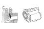 Penyetelan Celah Katup, Motor Sebaris 4 / 6 Silinder