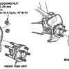 Hub Replacement (Front Suspension)