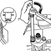 Bagaimana cara Melepas dan Memasang Injektor dan Tes Tekanan Kompresi