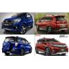 Perbandingan  Honda BR-V Prestige CVT VS Toyota Rush TRD Sportivo Ultimo A/T