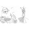 Suzuki Mencoba Kembangkan Sistem HUD (Head Unit Display ) Terbaru pada Helm