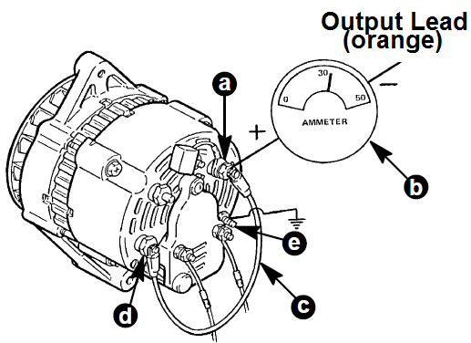 Wiring Diagram Alternator Mobil