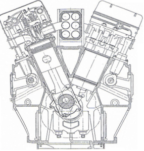 diesel v
