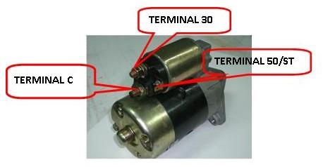 terminal stater